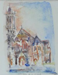 THE CRESCENT CHURCH, BELFAST by Colin Hamilton at Ross's Auctions