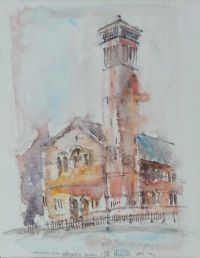 METHODIST CHURCH, UNIVERISTY ROAD, BELFAST by Colin Hamilton at Ross's Auctions