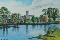 CHURCH REFLECTIONS by William Scott at Ross's Auctions
