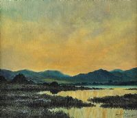 BOGLAND, CONNEMARA by Douglas Alexander RHA at Ross's Auctions