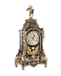 VICTORIAN EBONISED BOULLE BRACKET CLOCK at Ross's Auctions