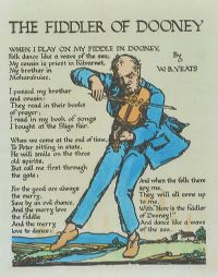 THE FIDDLER OF DOONEY by William Butler Yeats at Ross's Auctions