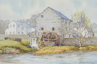THE OLD WATER WHEEL by Alymer E. Armstrong UWS at Ross's Auctions