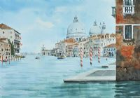 THE GRAND CANAL, VENICE by Andrew Gardner at Ross's Auctions
