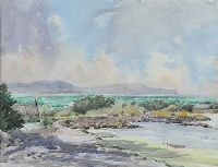 STORM AT GROOMSPORT by Mabel G. Young at Ross's Auctions