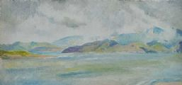 ACROSS THE LOUGH by Mary Swanzy HRHA at Ross's Auctions
