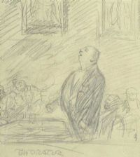 THE ORATOR by Jack Butler Yeats RHA at Ross's Auctions