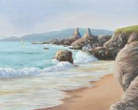 IRISH FORESHORE by Frederick Chaplin Smith at Ross's Auctions