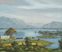 LAKE CONG, CONNEMARA by Ray Summer at Ross's Auctions
