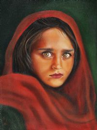 AFGHAN GIRL by Pam Houston at Ross's Auctions
