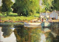 THE PRIME OF SUMMERTIME by James Humbert Craig RHA RUA at Ross's Auctions