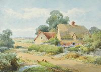 IN A BERKSHIRE LANE by Sylvester Stannard RBA at Ross's Auctions