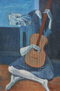THE GUITAR PLAYER by S. Anderson at Ross's Auctions