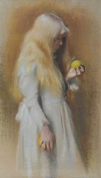 GOLD HAIR by Nelly Erichsen at Ross's Auctions
