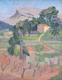 FRENCH LANDSCAPE by Stella Frost at Ross's Auctions
