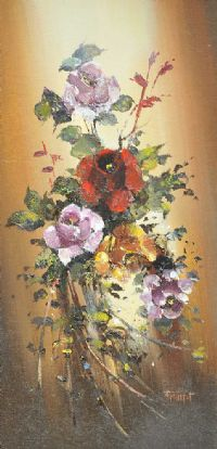 FLOWERS by Francis Fitzsimons at Ross's Auctions
