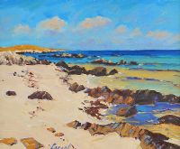 CORAL STRAND, BALLYCONNEELY, CONNEMARA by Fergal Flanagan at Ross's Auctions