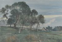 IN THE GLOAMING by Phyllis Arnold UWA MSM at Ross's Auctions