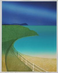 ANTRIM COAST ROAD by Margaret Arthur RUA at Ross's Auctions