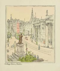 COLLEGE GREEN, DUBLIN by H. Roberts at Ross's Auctions