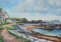 BALLINTOY, COUNTY ANTRIM by William Yeaman at Ross's Auctions