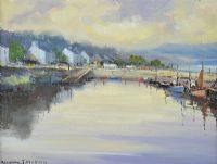 ROUNDSTONE HARBOUR by Norman J.  McCaig at Ross's Auctions