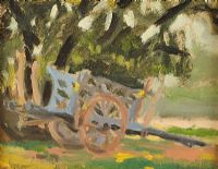 THE HAY CART by Samuel C.  Taylor at Ross's Auctions