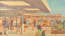 THE SHOPPING CENTRE by John W. Hart at Ross's Auctions