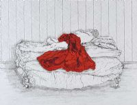 THE RED BLANKET by Anne Anderson at Ross's Auctions
