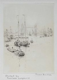 TOWER BRIDGE by Rowland Langmaid at Ross's Auctions