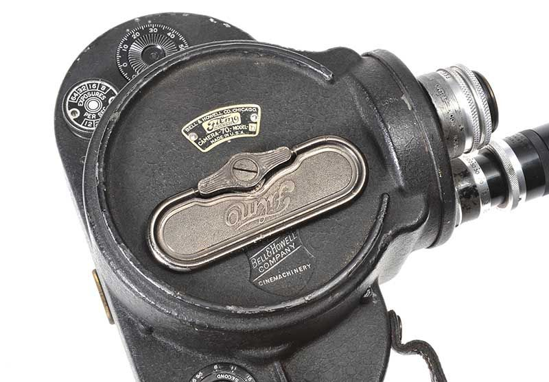 LEATHER CAMERA CASE BELONGING TO COUNT JOHN MCCORMACK, COMPLETE WITH CAMERA at Ross's Online Art Auctions