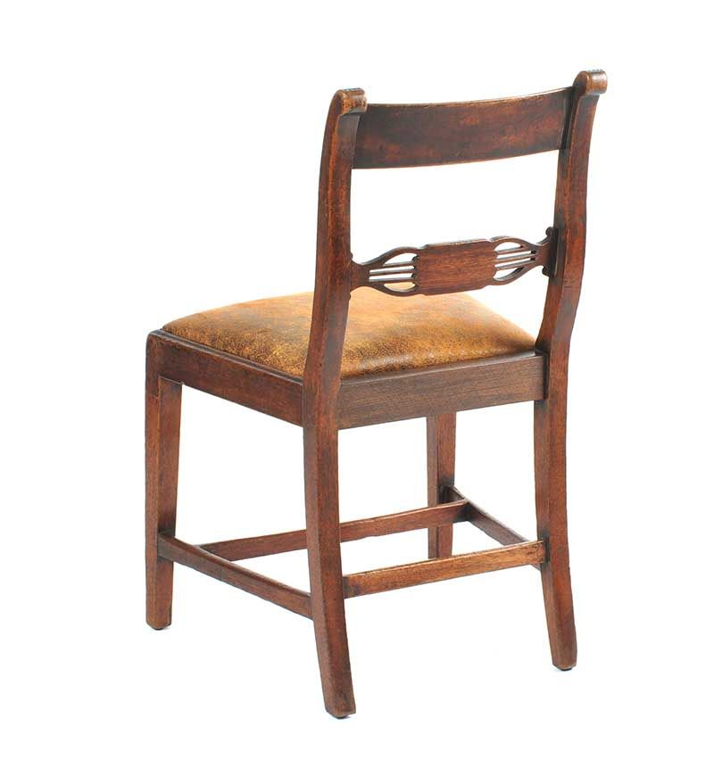 ANTIQUE MAHOGANY SIDECHAIR at Ross's Online Art Auctions