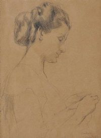 BRIDGET, LADY HUBBACK by Mabel Allington Royds at Ross's Auctions