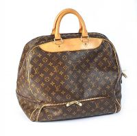 LOUIS VUITTON MONOGRAMMED 'EVASION' BOSTON M41443 CANVAS LEATHER TRAVEL BAG at Ross's Auctions