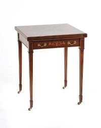 EDWARDIAN ENVELOPE CARD TABLE at Ross's Auctions