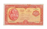 LADY LAVERY TWENTY POUND NOTE at Ross's Auctions