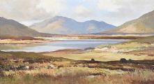 LOUGH INAGH, CONNEMARA, COUNTY GALWAY by Maurice Canning  Wilks ARHA RUA at Ross's Auctions