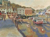 IRISH HARBOUR by Edwin at Ross's Auctions