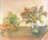 FLOWERING CURRANT by Stella Steyn at Ross's Auctions