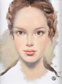 BROWN EYED GIRL by Ken Hamilton at Ross's Auctions