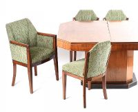 11 PIECE ART DECCO DINING ROOM SUITE at Ross's Auctions