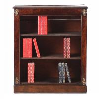 ANTIQUE OPEN BOOKCASE at Ross's Auctions