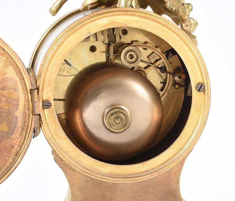 THREE PIECE CLOCK SET at Ross's Online Art Auctions