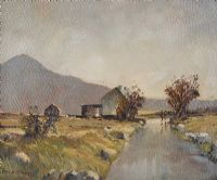 HEADING HOME, DONEGAL by Frank McKelvey RHA RUA at Ross's Auctions