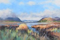 ACROSS CARLINGFORD LOUGH by Anthony Loughran at Ross's Auctions