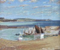 IRISH HARBOUR by After Patrick Leonard HRHA at Ross's Auctions