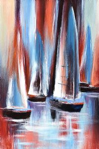 SAILBOATS by English School at Ross's Auctions