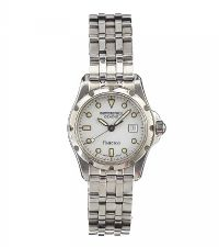 RAYMOND WEIL 'FLAMENCO' STAINLESS STEEL LADY'S WRIST WATCH at Ross's Auctions