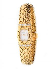 TIFFANY & CO. 18CT GOLD WATCH WITH BOX at Ross's Auctions