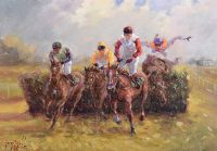 OUT IN FRONT by Gerry Glynn at Ross's Auctions